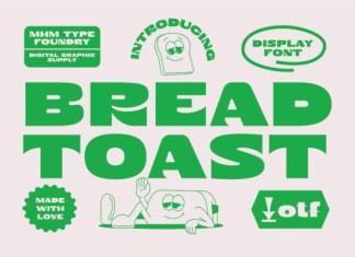 Bread Toast Font