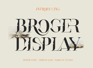 Broger Font