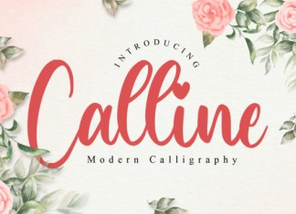 Calline Font