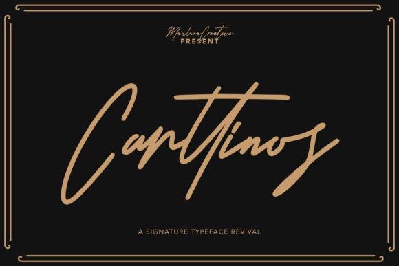 Carttinos Font