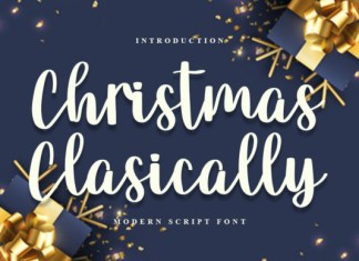 Christmas Classically Font