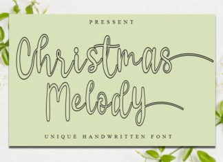 Christmas Melody Font