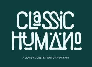 Classic Humano Font