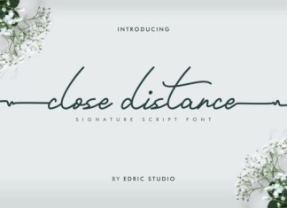 Close Distance Font