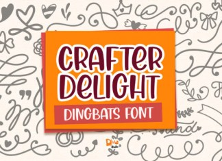 Crafter Delight Font