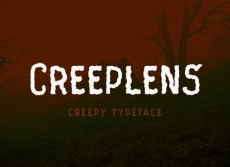 Creeplens Font