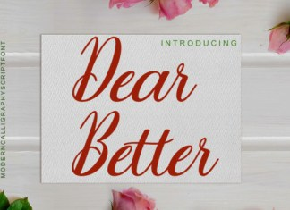 Dear Better Font