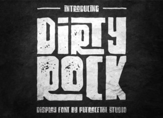 Dirty Rock Font