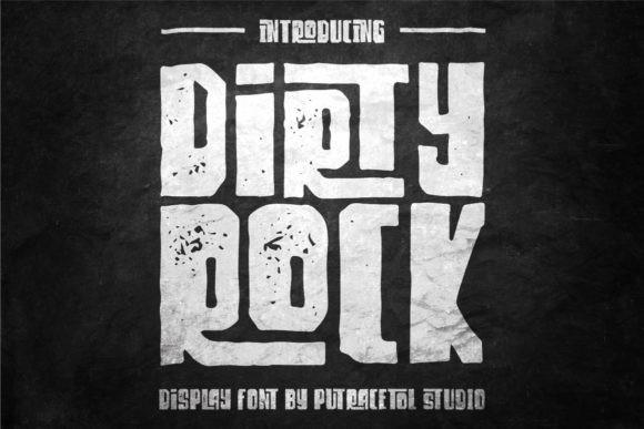 Dirty Rock Font
