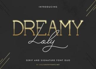Dreamy Loly Font