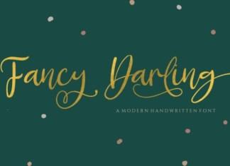 Fancy Darling Font
