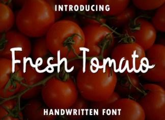 Fresh Tomato Font