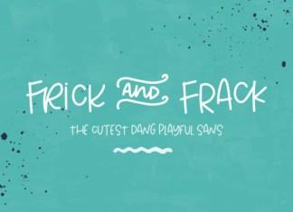 Frick and Frack Font