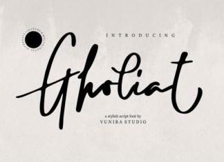 Gholiat Font
