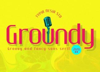 Groundy Font