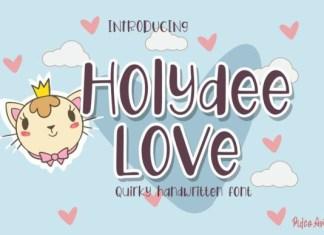 Holydee Love Font