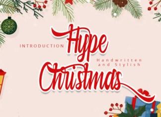 Hype Christmas Font