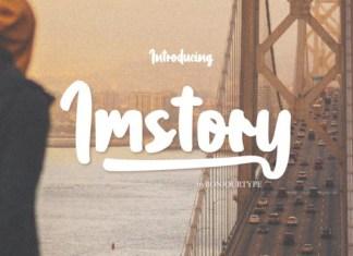 Imstory Font