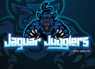 Jaguar Jugglers Font