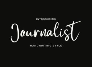 Journalist Font