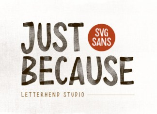 Just Because Font