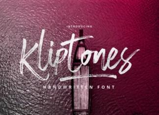 Kliptones Font
