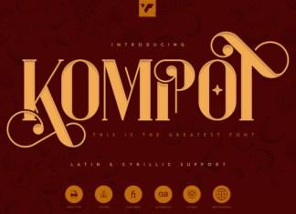 Kompot Font