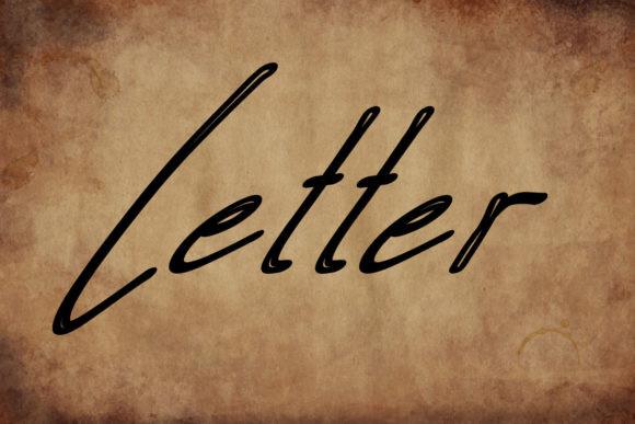 Letter Font