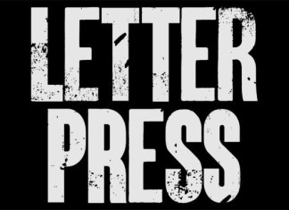 Letterpress Font