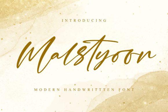 Malstyoor Font
