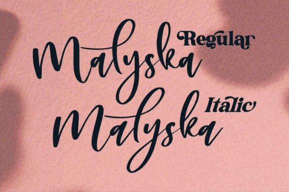 Malyska Font