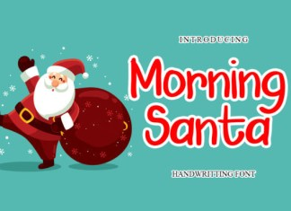 Morning Santa Font