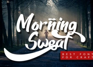 Morning Sweat Font