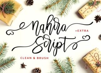Nahira Script Font
