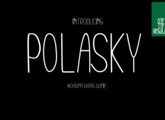 Polasky Font