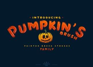 Pumpkin's Font