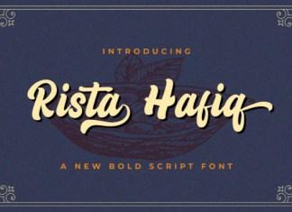 Rizta Hafiq Font