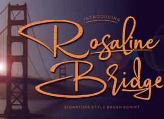 Rosaline Bridge Font