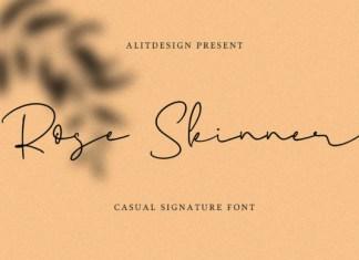 Rose Skinner Font