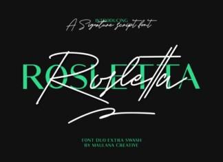 Rosletta Font
