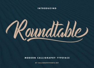 Roundtable Font