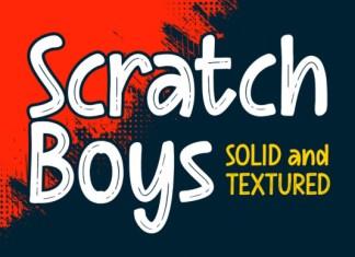Scratch Boys Font