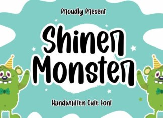 Shiner Monster Font