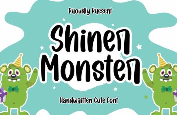Shiner Monster Font
