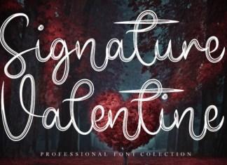 Signature Valentine Font