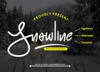 Snowline Font