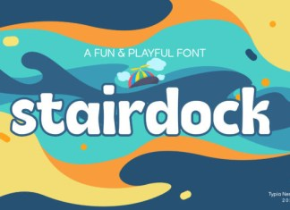 Stairdock Font