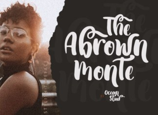 The Abrown Monte Font
