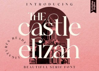 The Castle Elizah Font