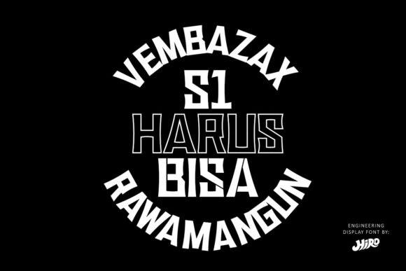 Vembazax RM Font